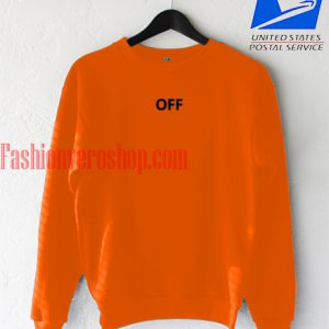 Off orange Sweatshirt