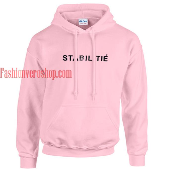 STABILITIE Pink hoodie