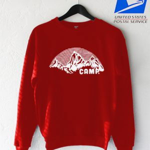 TRI RED – Camp Sweatshirt
