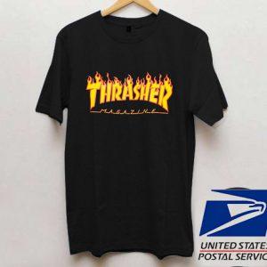 Thrasher Fire Magazine T shirt