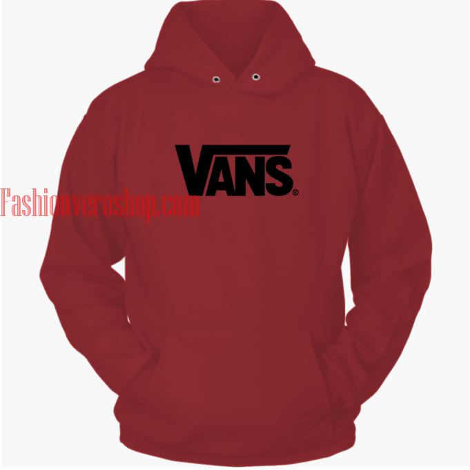 Vans Maroon hoodie