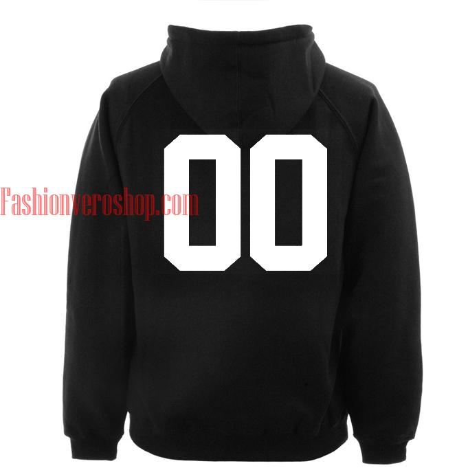 00 Black hoodie
