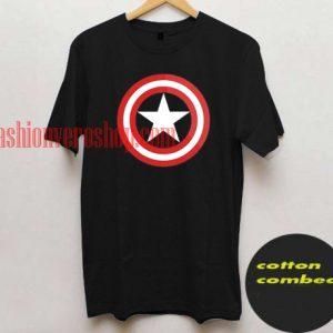 Captain America All Star logo T shirt