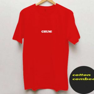Chum Red T shirt