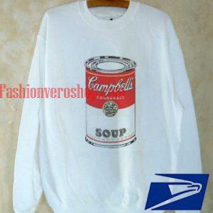 Lauren's Cambell soup Sweatshirt