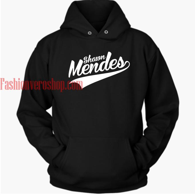 Shawn Mendes Black hoodie