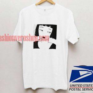 Smoking Girl T shirt