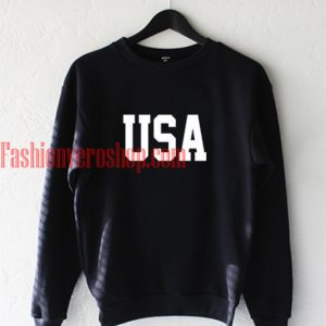 USA Black Sweatshirt