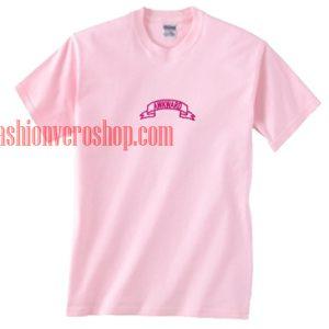 akward Pink T shirt