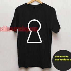 keyhole T shirt