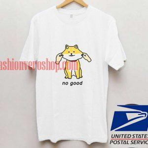 No good cat funny T shirt