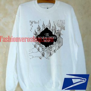 The Marauders Map Harry potter Sweatshirt