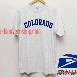Colorado Dark Blue t shirt