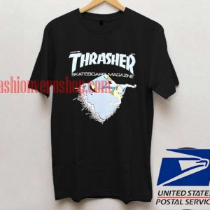 Thrasher Skateboard Magazine T shirt