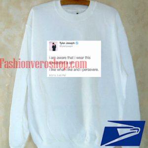 Tyler Joseph Tweet Sweatshirt