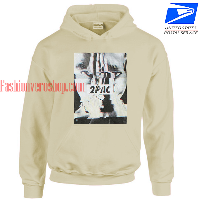 2Pac Glitch Photo HOODIE
