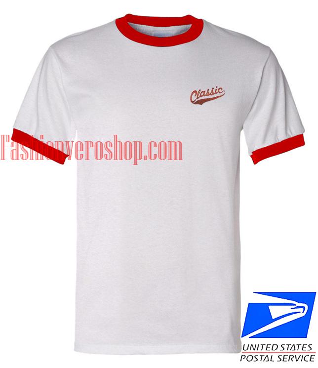 Unisex ringer tshirt Classic Logo