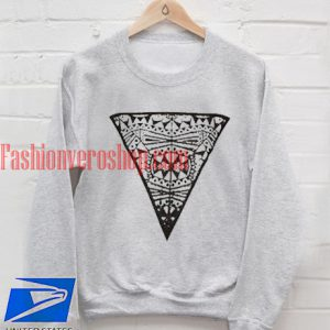 Pattern Triangle Sweatshirt
