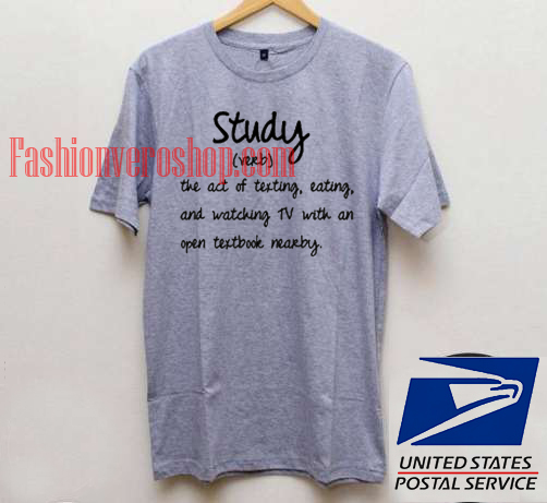 Study Meaning T shirt