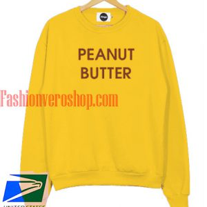peanut butter yellow Sweatshirt