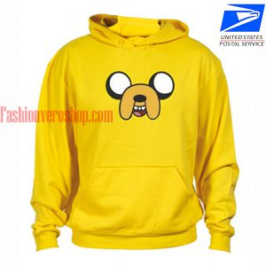 Adventure time jake face yellow HOODIE