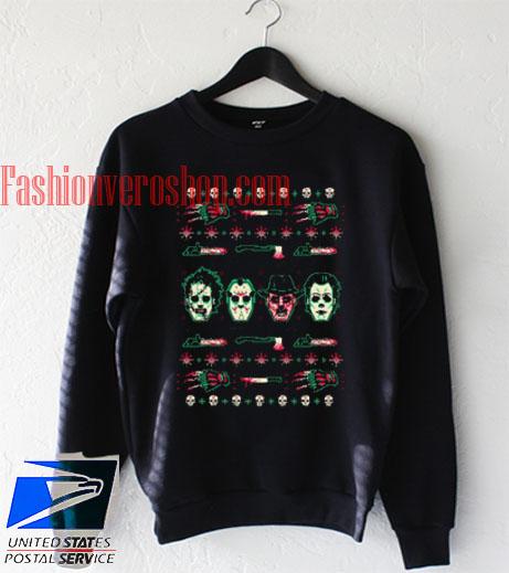 Horror Christmas Sweatshirt