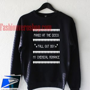 Panic At The Disco Fall Out Boy Sweatshirt
