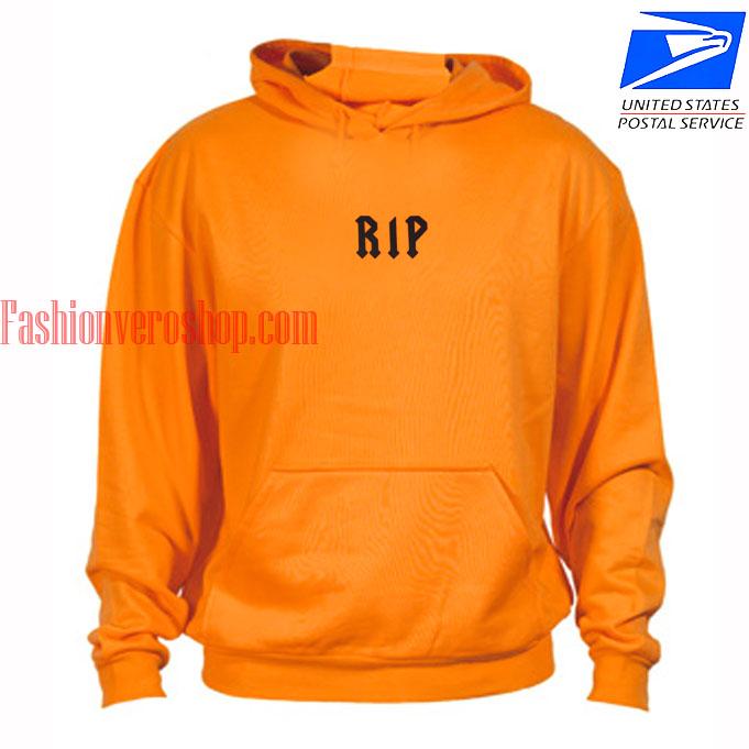 Rip Orange HOODIE