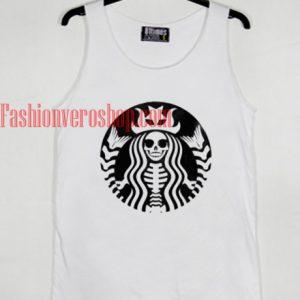 Skeleton Starbucks Tank top