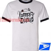 Unisex ringer tshirt The Vampire Diaries