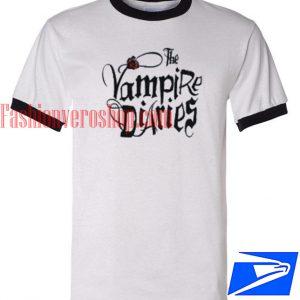 Unisex ringer tshirt - The Vampire Diaries