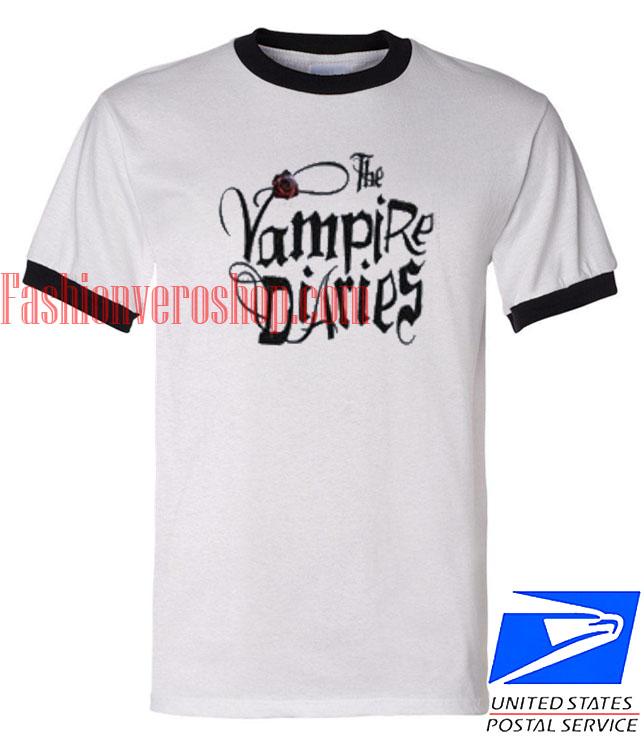 Unisex ringer tshirt The Vampire Diaries