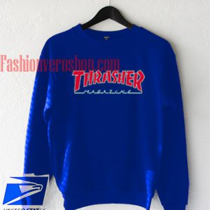 Thrasher Magazine Blue Sweatshirt