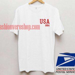 USA 1984 t shirt men and t shirt women by fashionveroshop