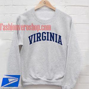 Virginia grey Sweatshirt