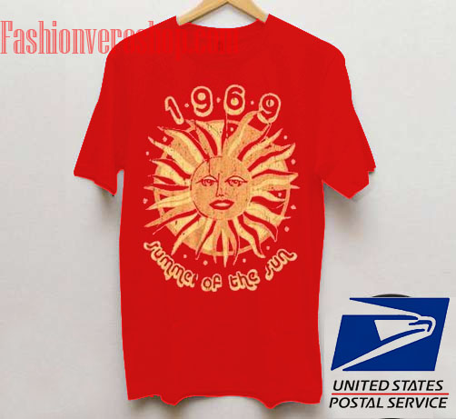 1969 Summer Of The Sun Unisex adult T shirt