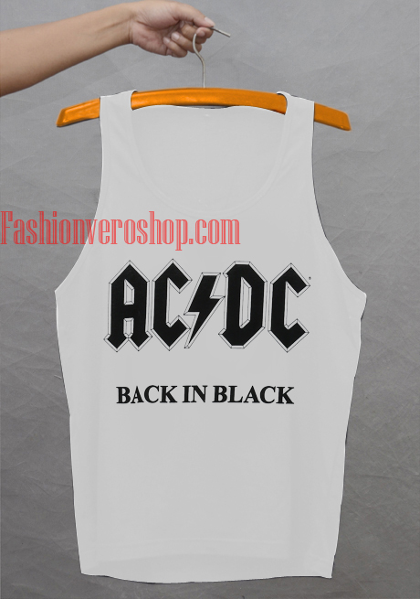ACDC, Back in Black Tank top