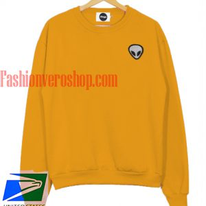 Alien Yellow Sweatshirt