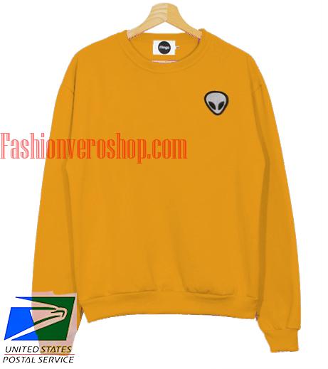 Alien Yellow Sweatshirt