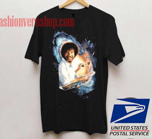 Bob Ross Unisex adult T shirt