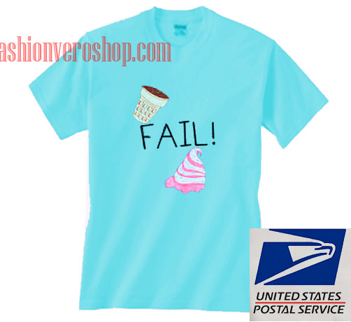 Ice Cream Fail Unisex adult T shirt