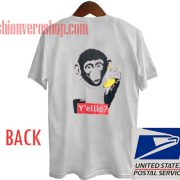 Monkey With Banana Unisex adult T shirt