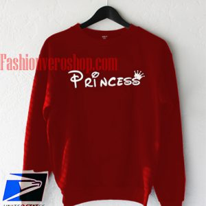 Princess Maroon Sweatshirt