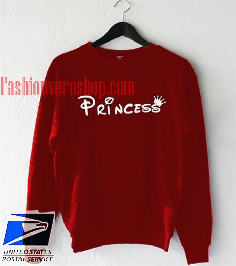 Princess Maroon Sweatshirt