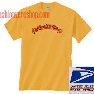 San diego padres logo Unisex adult T shirt