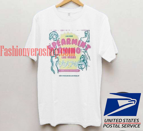 Spearmint Rhino Unisex adult T shirt