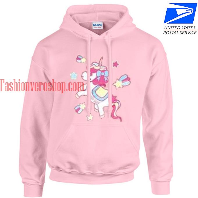 unicorn acdc rag HOODIE - Unisex Adult Clothing