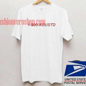 1-800-Agustd Unisex adult T shirt