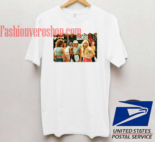 1980s Fashion for Teenage Girls Unisex adult T shirt