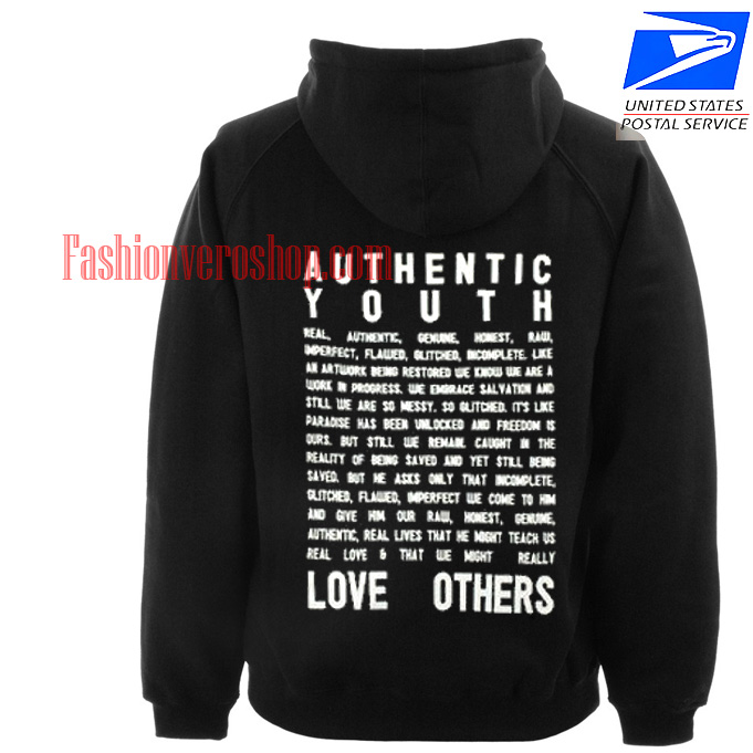 Authentic Youth HOODIE - Unisex Adult Clothing